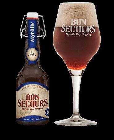 Bon Secours Myrtille (12x33cl)