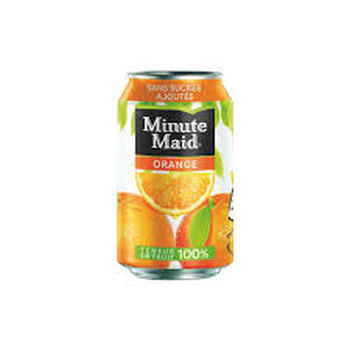 MINUTE MAID ORANGE 33CL (cans)