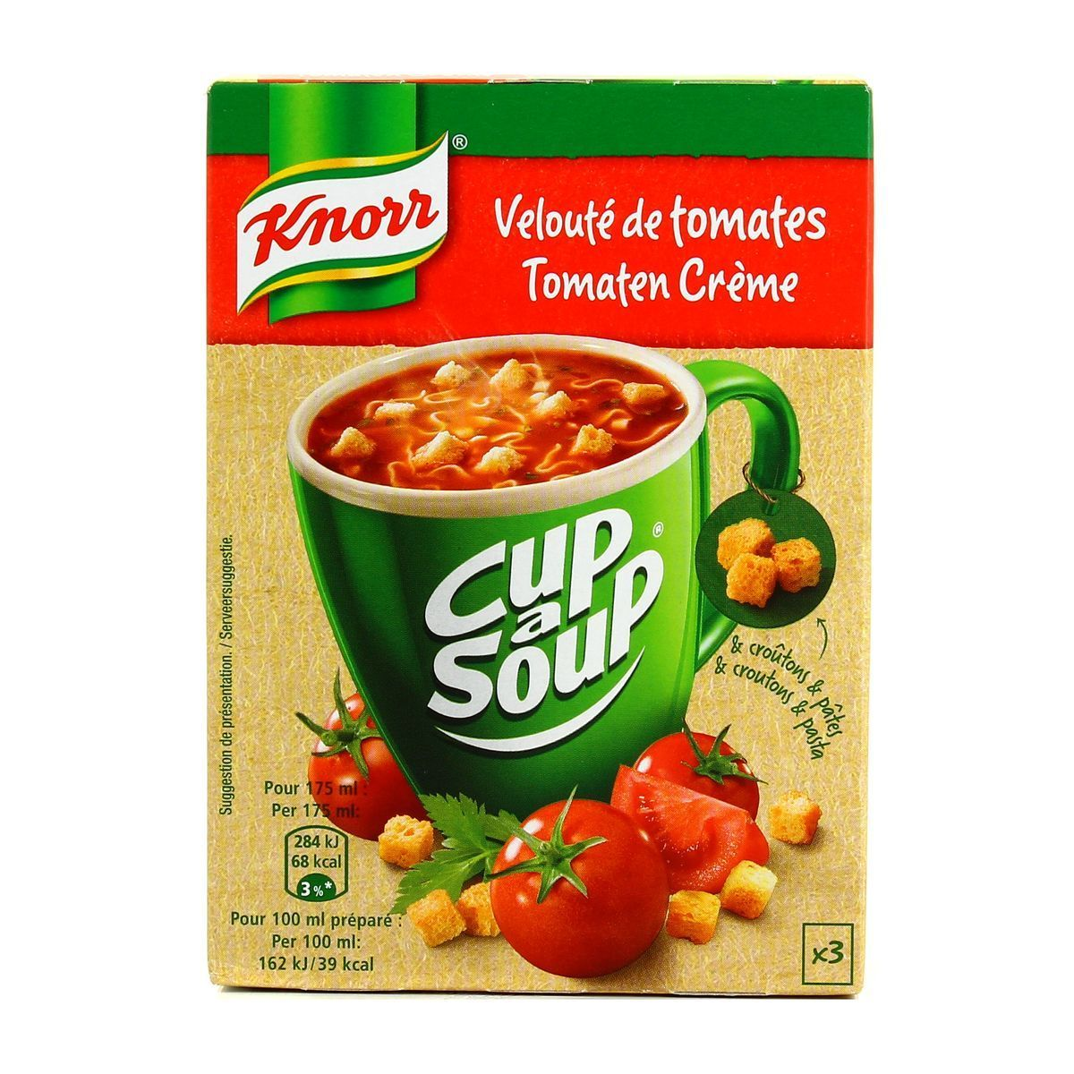 CUP A SOUP : TOMATE CREME (x20)