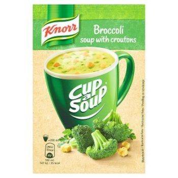 CUP A SOUP : BROCCOLI crout. (x20)