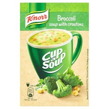 CUP A SOUP : BROCCOLI crout. (x20)
