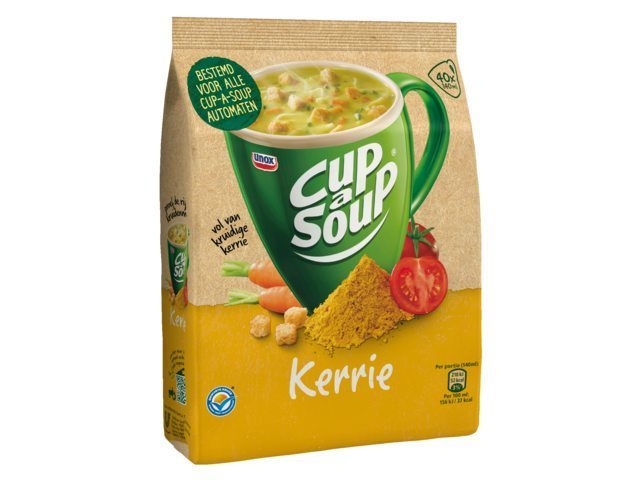 CUP A SOUP : CURRY crout. (x20)