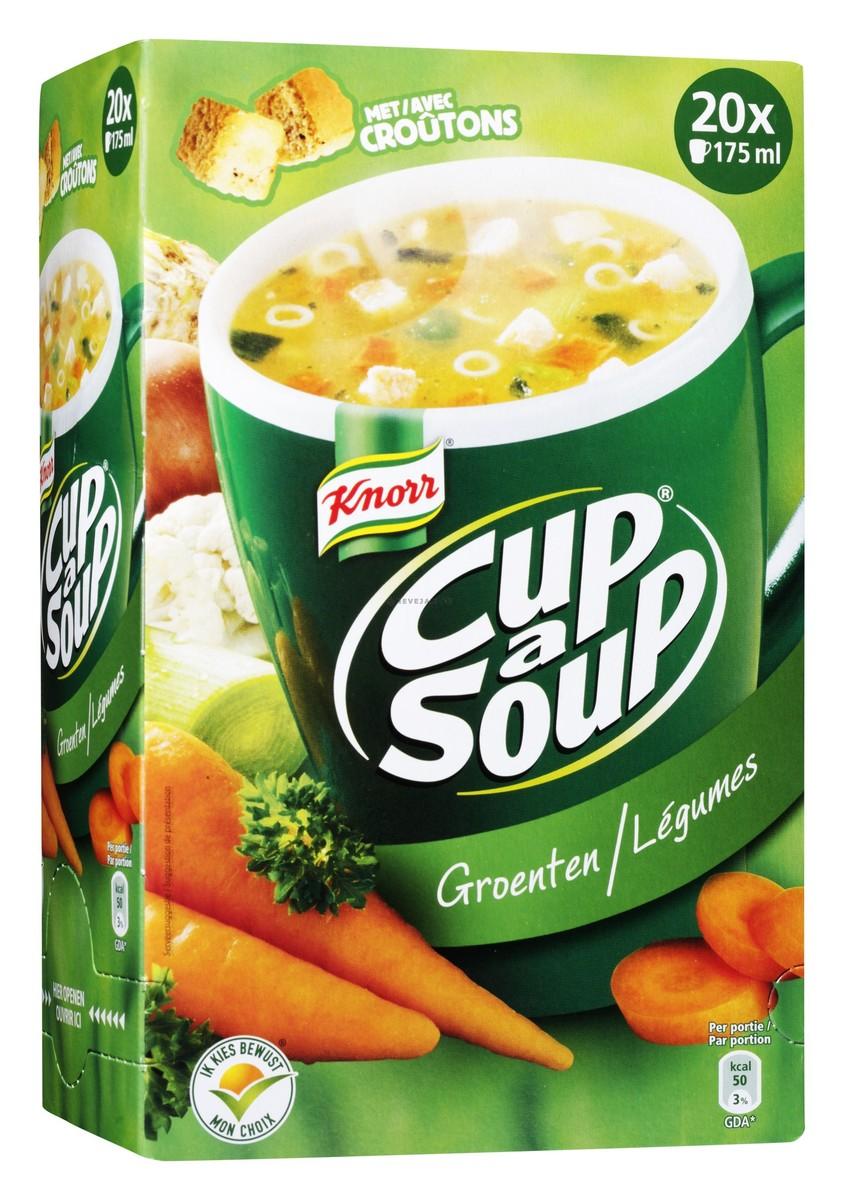CUP A SOUP : LEGUMES crout. (x20)
