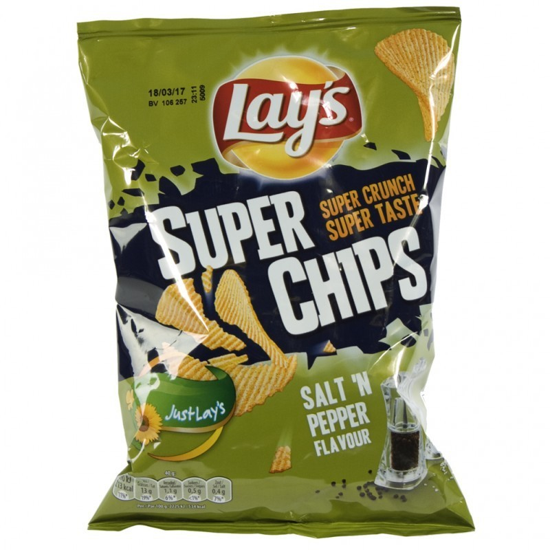 LAYS : SALT & PEPPER 40gr