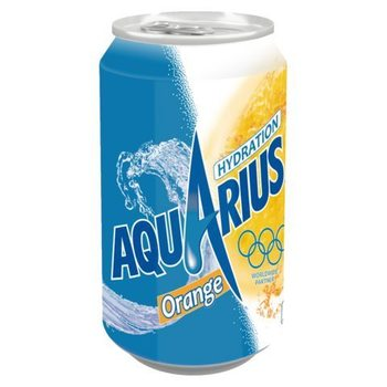 AQUARIUS ORANGE 33cl (cans)
