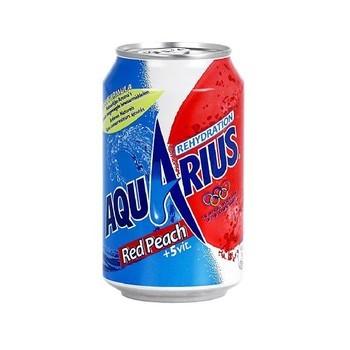 AQUARIUS RED BLAST 33cl (cans)