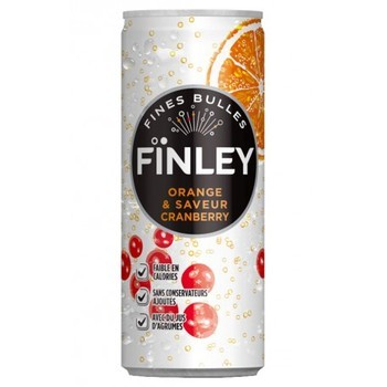 FINLEY ORANGE / CITRON 24x25cl (cans)