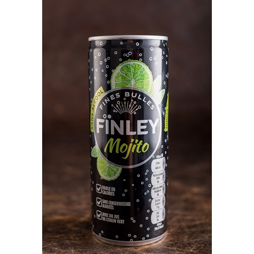 FINLEY SPRITZ / MOJITO 24x25cl (cans)