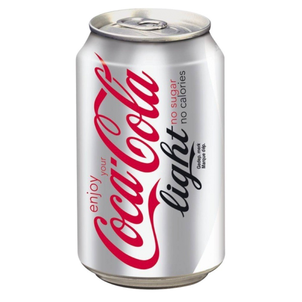 COCA COLA LIGHT 33cl (cans)