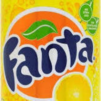 FANTA LEMON ZERO 33cl (cans)