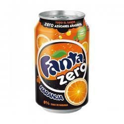FANTA ZERO 33cl (cans)