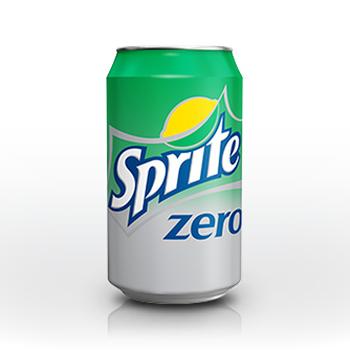 SPRITE ZERO 24x33cl (cans)