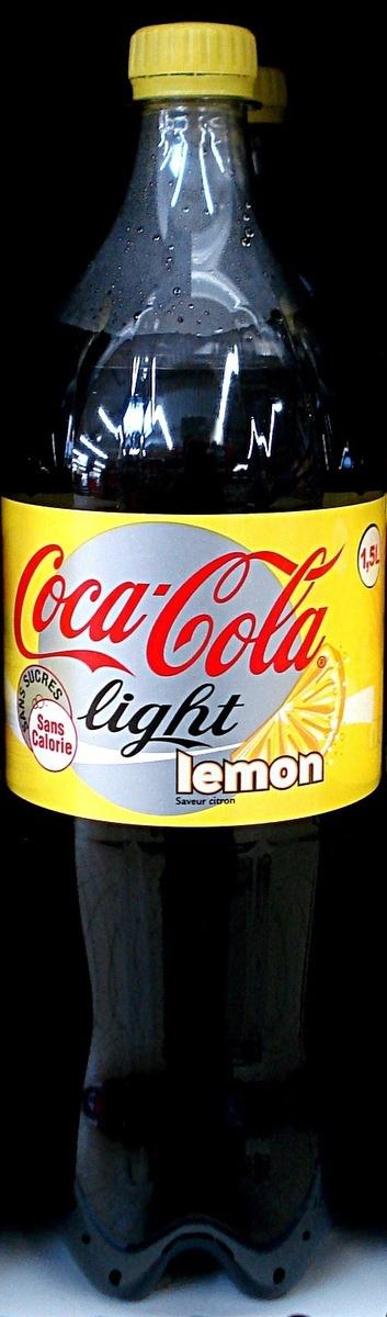 COCA COLA LIGHT LEMON 6x1.5L