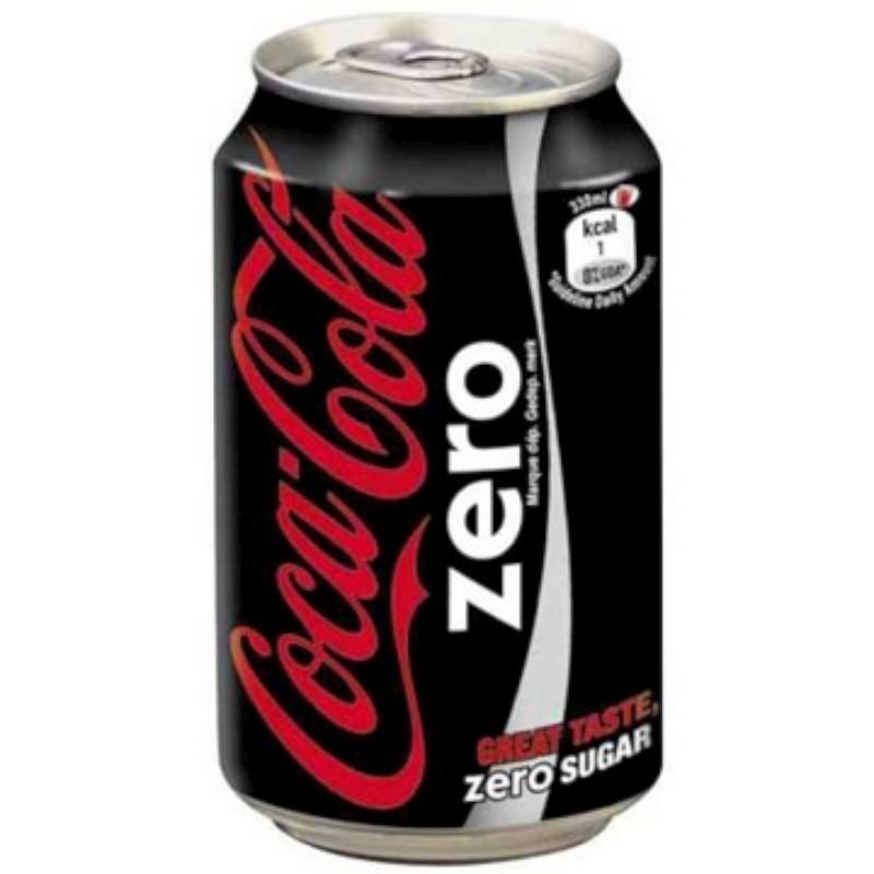 COCA COLA ZERO 24x33cl (cans)