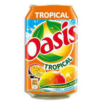 OASIS TROPICAL 24x33cl (cans)