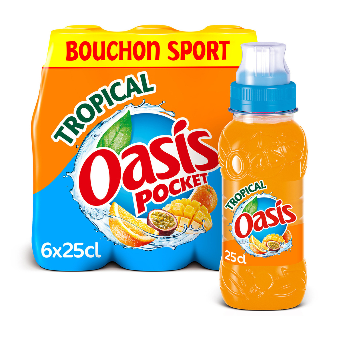 OASIS TROPICAL POCKET 24x25cl