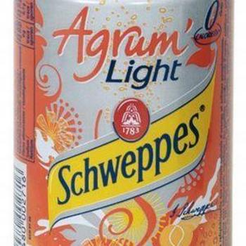 SCHWEPPES AGRUM LIGHT 6x33cl (cans)