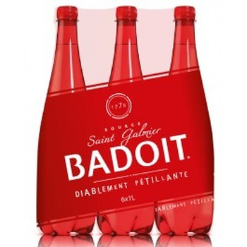 BADOIT ROUGE 12x75cl