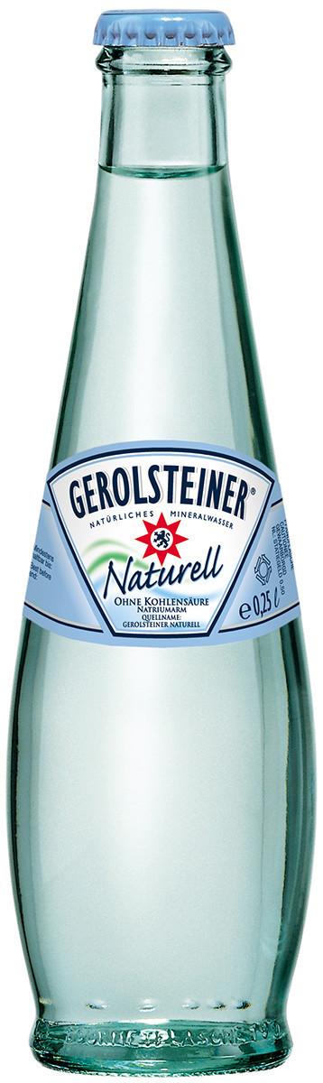 GEROLSTEINER plat 25cl