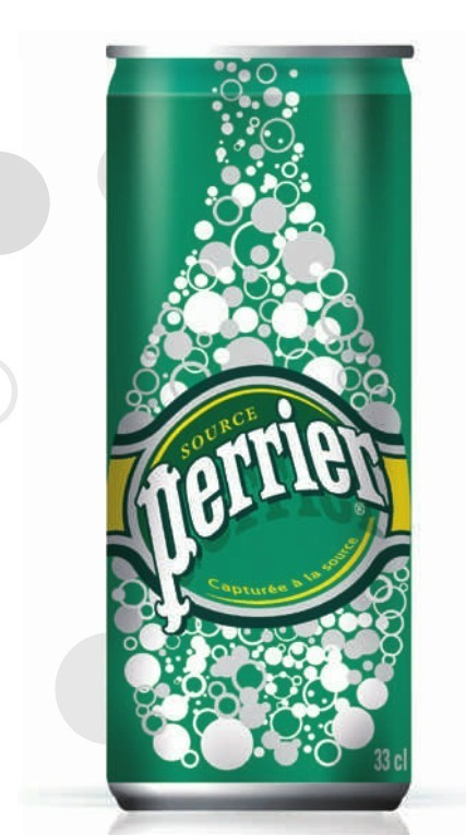 PERRIER 24x25cl (cans)