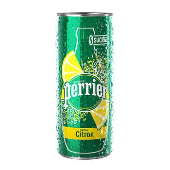 PERRIER CITRON 33cl (cans)