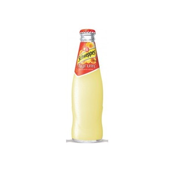 SCHWEPPES AGRUMES 24x25cl