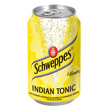 SCHWEPPES TONIC 33cl (cans)