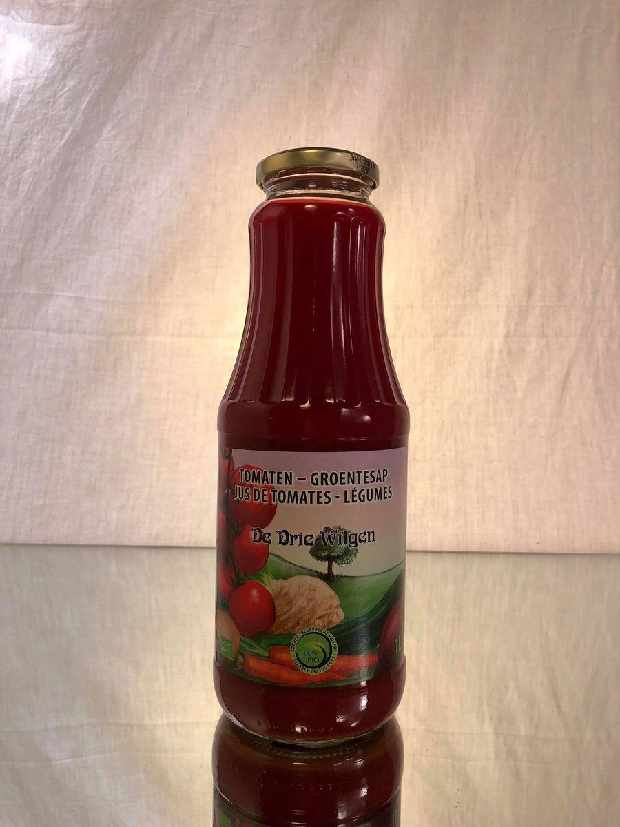 DE DRIE WILGEN (jus BIO) Tomates & Légumes  24x20CL