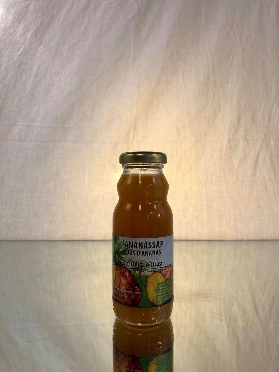 DE DRIE WILGEN (jus BIO) Ananas  24x20CL