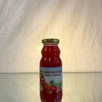 DE DRIE WILGEN (jus BIO) Pommes - Groseilles  24x20CL