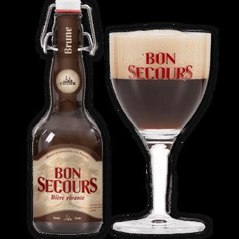 Bon Secours Brune (12x33CL)