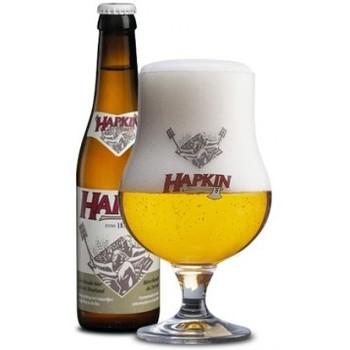 HAPKIN COFFRET 2 X 33 CL + VERRE