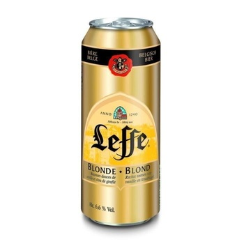 LEFFE BLONDE CANS 33CL