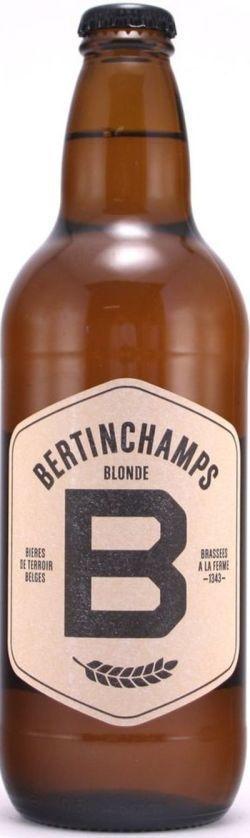 BERTINCHAMPS BLONDE 20X0.50CL
