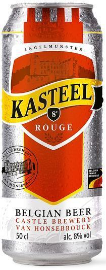 kasteel rouge cans 12x0.50cl